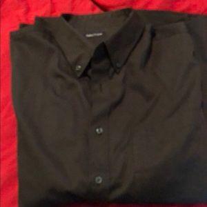 Men's black Dress Shirt